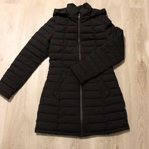 Nautica lightweight puffer jacket, mid-thigh